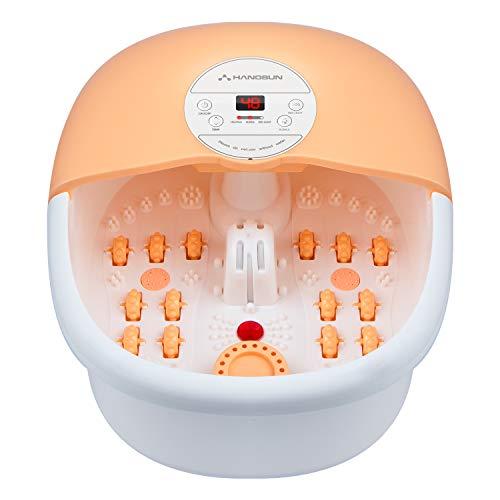 Hangsun Foot Spa Bath Massager with Heat Bubbles Massage FM660 Heater...