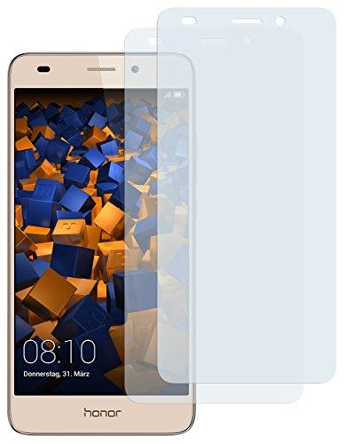 mumbi Schutzfolie kompatibel mit Huawei Honor 5C Folie klar, Bildschirmschutzfolie (2X)