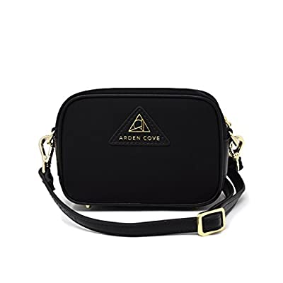 Anti-Theft Waterproof Mini Cross-Body Bag with Adjustable Faux Leather Strap