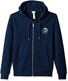 Diesel Men's Brandon Full Zip Hoodies