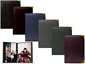 """Best Pioneer Mini Oxford Bound Photo Album, Solid Color Sewn Leatherette Covers with Brass Accent Corners, Holds 24 4x6"""" Photos, 1 Per Page, Color: Hunter Green. Review"""
