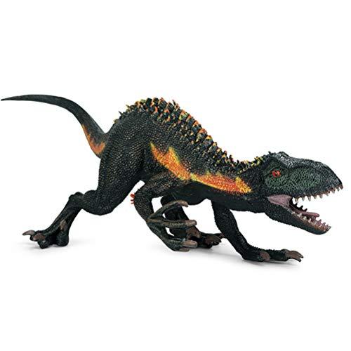 Figuras de acción, Dinosaur World Animal Model, Jurassic Indominus Rex Plastic Figures Open Mouth Figuras de acción Simulación Dinosaur World Animals Model Kids Toy Gift