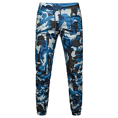 Beonzale Sommer Mode Männer Sommer Mens Casual Joggers Camouflage Pocket Drawstring Camo Pants Hose Jogginghose Trainingsanzug
