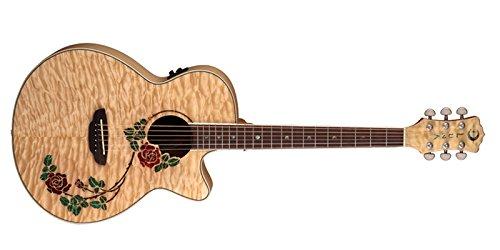 Luna Guitars RSE NYL - Guitarra electroacústica