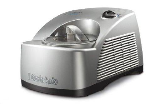 De'Longhi ICK 6000 Eiscremeautomat, Kompressor, 700 Gramm, silber