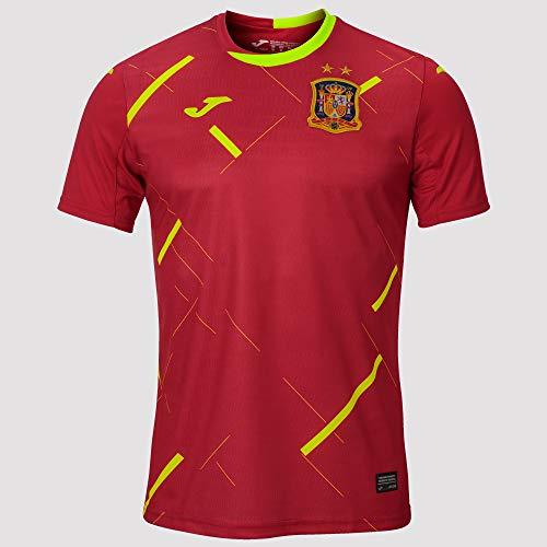 Joma España Fútbol Sala Primera Equipación 2020, Camiseta, Rojo, Talla M