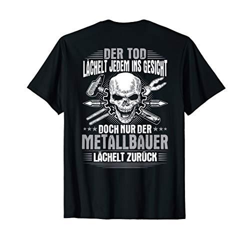 Herren Lächeln Metallbauer T-Shirt