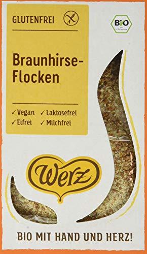 Werz Braunhirse-Flocken, glutenfrei (1 x 250g)