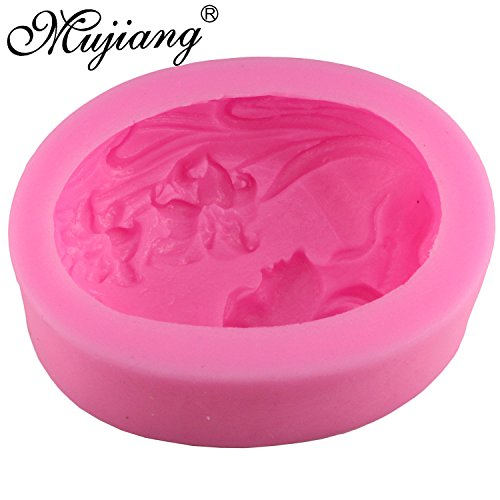 Star Trade Inc - Fairy Flower Girl Soap Silicone Molds Fimo Clay Candle Mold Fondant Cake Decorating Tool Gumpaste Chocolate Cake Moulds Download all (1 PCS)