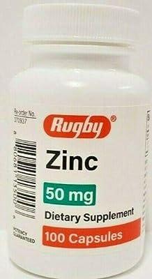 Rugby Zinc Capsules