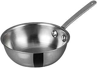 WINCO Mini Wok Stainless Steel, Silver