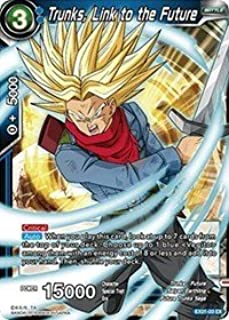 Dragon Ball Super TCG - Trunks, Link to the Future (Foil) - EX01-03 - EX - Expansion Deck Box Set 01 - Mighty Heroes
