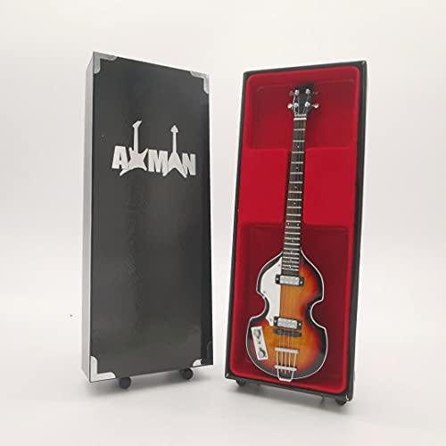 Paul McCartney (The Beatles) - Miniatur-Gitarrenreplik (UK Verkäufer)