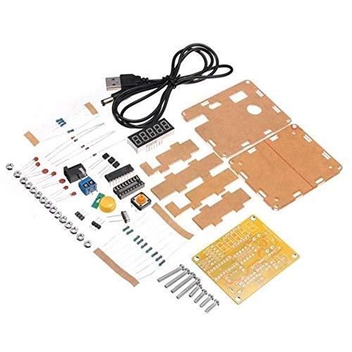 YELLAYBY Mit Gehäuse Kit DIY Frequency Tester 1Hz-50MHz Kristallzähler Meter...