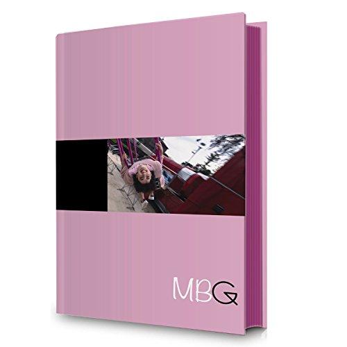 Diario escolar estándar 12m rosa Greta Menchi