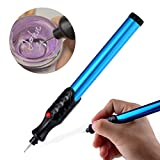 The Original Easy Etcher - Includes 10 Stencils - Portable Precision Engraving Pen