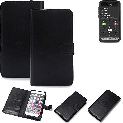 K-S-Trade® Handy Schutz Hülle Für Doro 8031C Schutzhülle Bumper Schwarz 1x