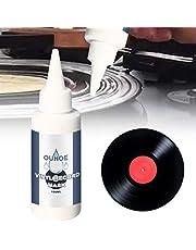 Yoohh Professionele LP Record Cleaner Oplossing,Vinyl Record Cleaner Audio Track Detergent Supersoft Microdoeken Stylus Cleaner Fluid Geniet Klik Gratis Crystal Clear Sound