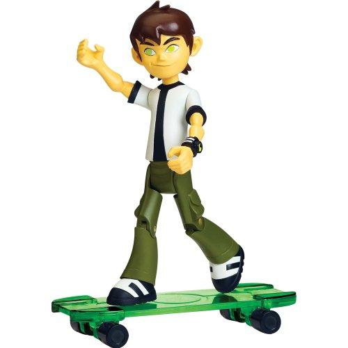 Ben 10Omniverse 10cm Alien Collection Figur Neue Ben mit Skateboard (11Jahre)