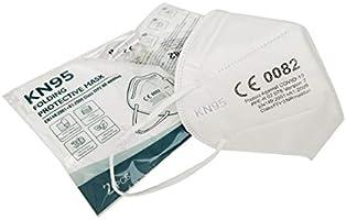 Mascherine Protettive FFP2 20 PEZZI Certificate CE, KN95 a 5 Strati e Morbido Elastico, Certificazione CE europea