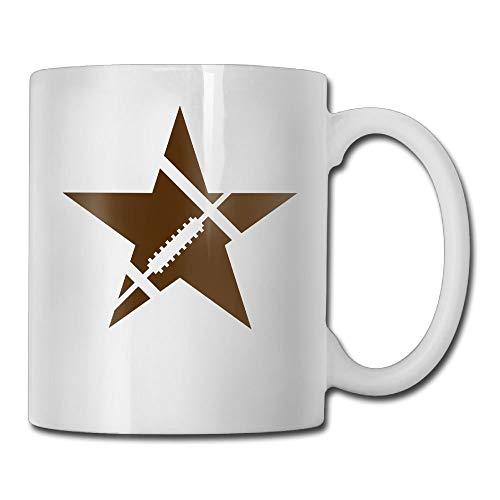 KIMIOE Kaffeetassen American Football Star Customize 3D Custom Painting Travel Mug Stainless Steel Simple Sense Coffee Mug,Personalized Gift