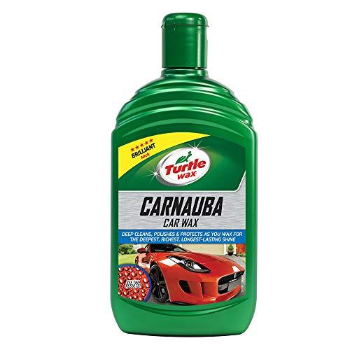 Turtle Wax 51780 Carnauba Car Wax Protección De Brillo Líquido De Cera De Coche Carnauba 500Ml