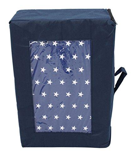 Best For Kids Matratze für das Reisebett 120 x 60 x 6 cm inkl.Transporttasche mit TÜV Kinder-Rollmatratze Kindermatratze in 4 Farben, Reisebettmatratze mit Tragetasche (Sternchen)