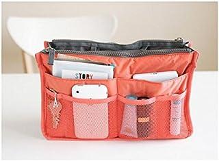 Polykor Fashion Women Men Travel Cosmetic Bag For Make up Bags Storage Bag(Orange)