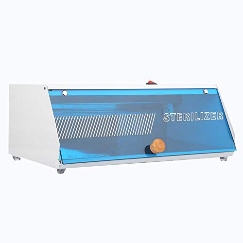 Gabinete esterilizador UV, 2 en 1 Tijeras Toalla Uñas Herramientas Esterilizador de ozono ultravioleta,bajo nivel de ruido,tasa de esterilización de hasta 99.9%,para peluquería,masajes,SPA,uñas(UE)