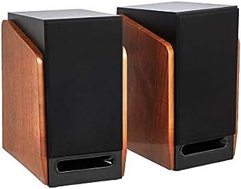Amazon Basics 40W Bookshelf Active Speaker (Pair)