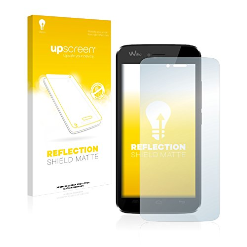 upscreen Entspiegelungs-Schutzfolie kompatibel mit Wiko Birdy – Anti-Reflex Bildschirmschutz-Folie Matt