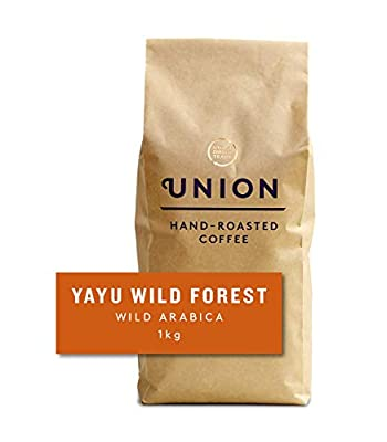 Union Hand Roasted Coffee | Ethiopian Coffee Beans | Medium Roast | Yayu Forest Coffee Beans 1kg