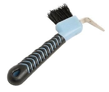Roma Deluxe Soft Grip Hoof Pick Light Blue/Black
