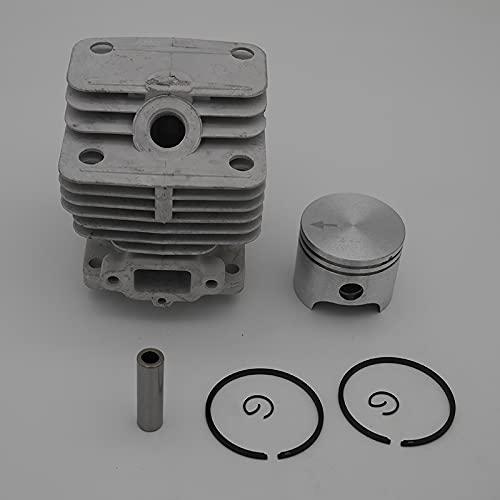 Buena estabilidad Kit de pistón de cilindros de 40 mm para O-l-e-o MAC 740 440B PEFCO 8400 8405 STARK 40 E/M/A/K MONTAMIENTO ZELINDER ANUNTO DE KOLBEN PIN DE LOS PISTAS DE 9MM PIEZAS Reemplace d