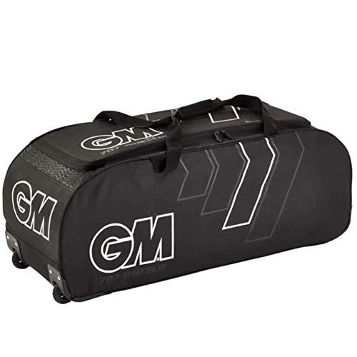 Gunn & Moore 707 Wheelie Bag 2020 Cricket, Unisex, 41802001, schwarz/weiß, Einheitsgröße