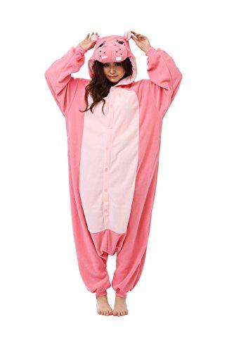 Kigurumi Pyjama Hippopotame Marque Originale SAZAC (100% Qualite Japonaise)