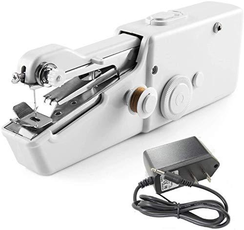 Máquina de Coser, Máquina de Coser de Mano Tienda de artesanías de Bricolaje Máquina de Coser portátil Utilizada para Telas Ropa Ropa para niños Viaje Familiar
