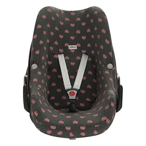 JANABEBE Funda para Bebé Confort Maxi-cosi Pebble Flúor Heart