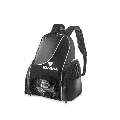 Vizari Solano Soccer Backpack (Black)