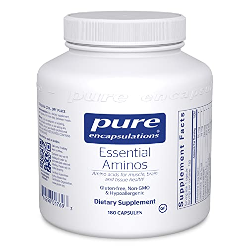 Pure Encapsulations Essential Aminos | Amino Acid Supplement for The Brain and Muscle Recovery* | 180 Capsules