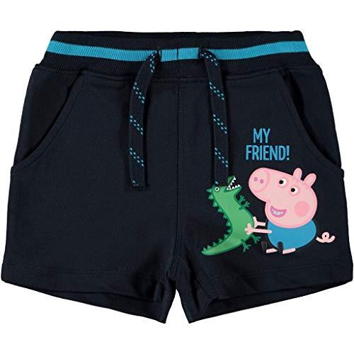 NAME IT Jungen Sommer Baumwoll-Shorts Peppa Wutz 86/12-18 Monate