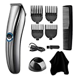 Hair Clippers for Men,Cordless Hair Trimmer & Hair Cutting Kits & Grooming Kit - Rechargeable, Wet/Dry Clippers, Come with 4 Guide Combs, Standing Dock, Professional Personal Hair Clipper Set