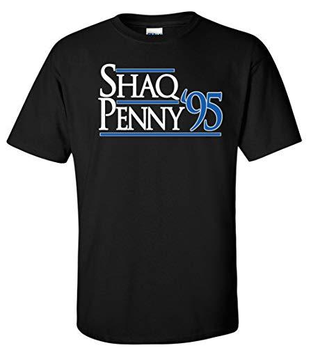 Black Orlando Shaq Penny 95' T-Shirt Adult