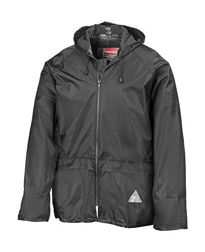 REGEN-ANZUG, Größe M, (Regenset bestehend aus Jacke und Hose), absolut wasserdicht, Farbe schwarz, lieferbar von Gr. S - XXL M