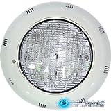 Foco Led superficie para piscina, 15W, luz blanca 6000K, 12V, Resistente al agua IP68, 180º de apertura, Encendido instantaneo,1100 lúmenes.