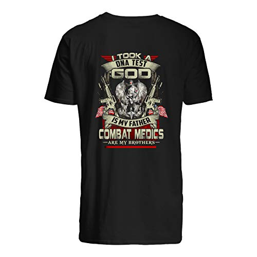 Micerice Combatmedic I Took A DNA Test God T-Shirt Nero 3XL