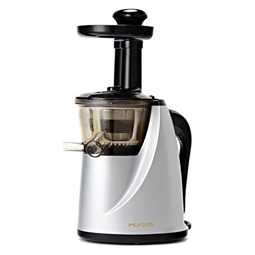 Hurom HU-100 Masticating Slow Juicer, Silver