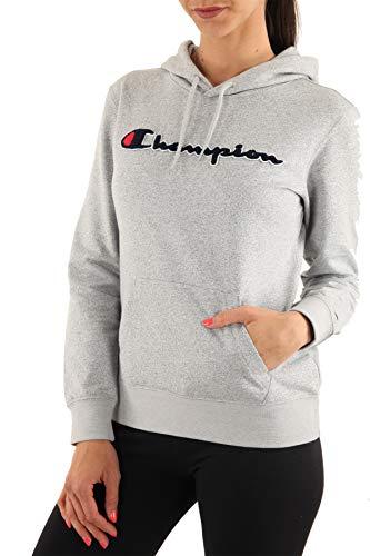 Champion Damen Kapuzenpullover American Logo Hoodie