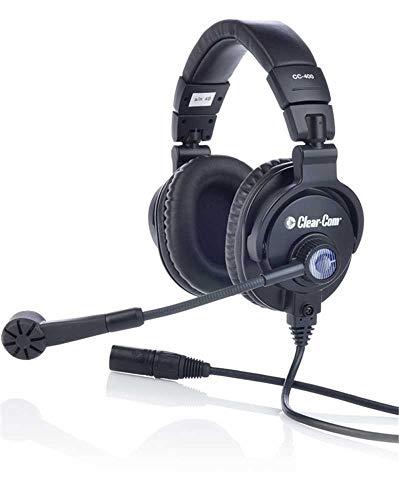 Find Bargain Clear-Com CC-400-X4   Double Over Ear 4 Pin Female XLR Cardioid Headset