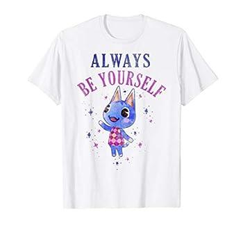 Animal Crossing Rosie Always Be Yourself Portrait T-Shirt
